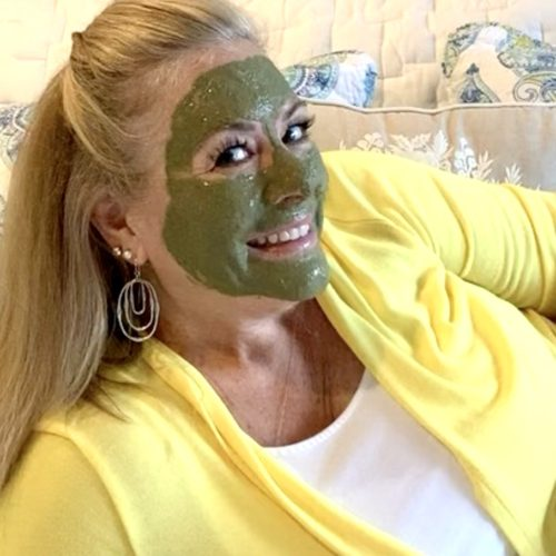 Lady with Green Earth Enzyme on